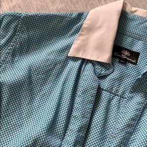 Ben Sherman button-down short sleeves shirt